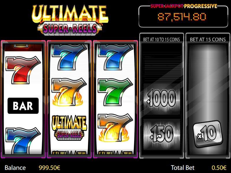 Ultimate Super Reels Online Slots