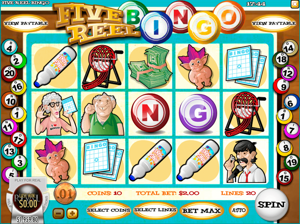 Real Money Online Bingo and Slots Games