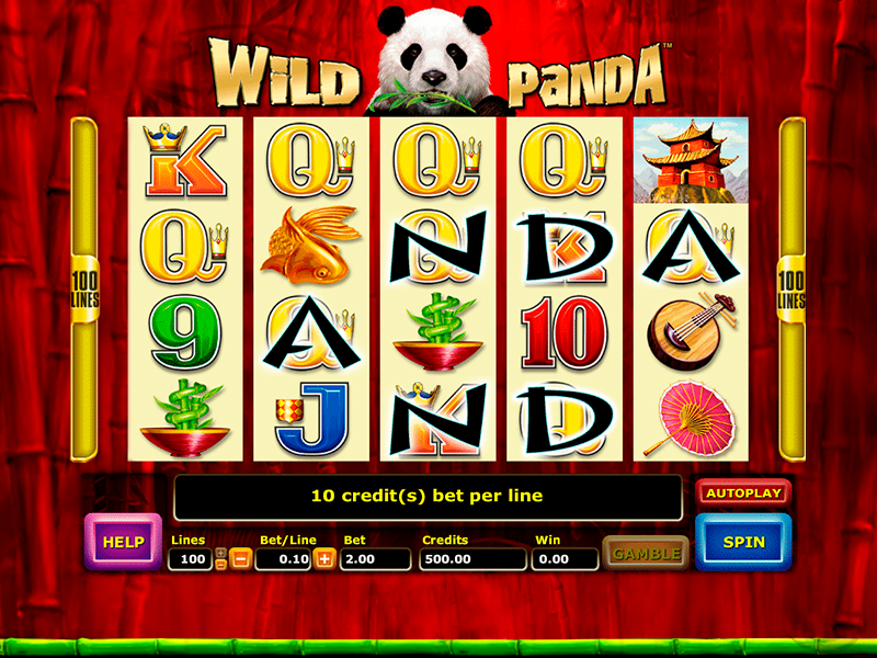 Play Wild Panda Online Slots Game For Free Or Real